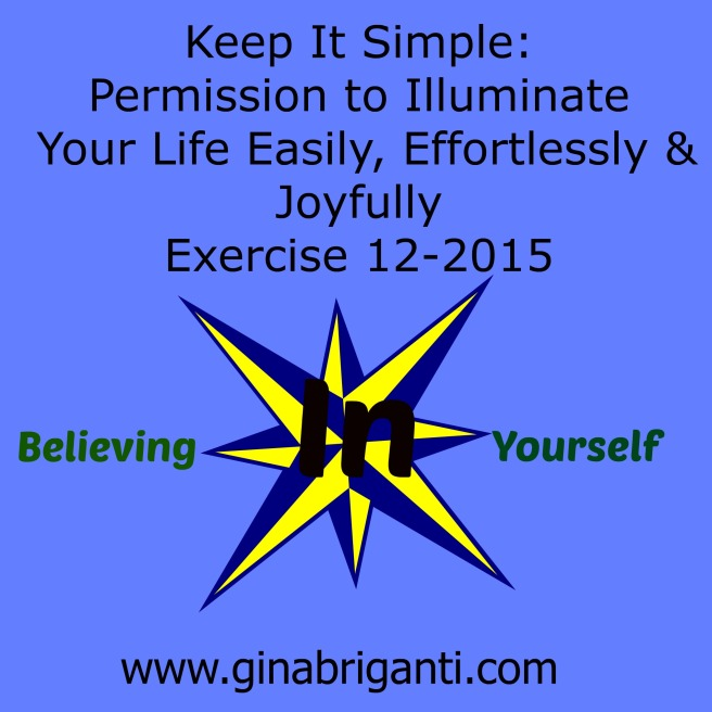 K.I.S. Believing In Yourself