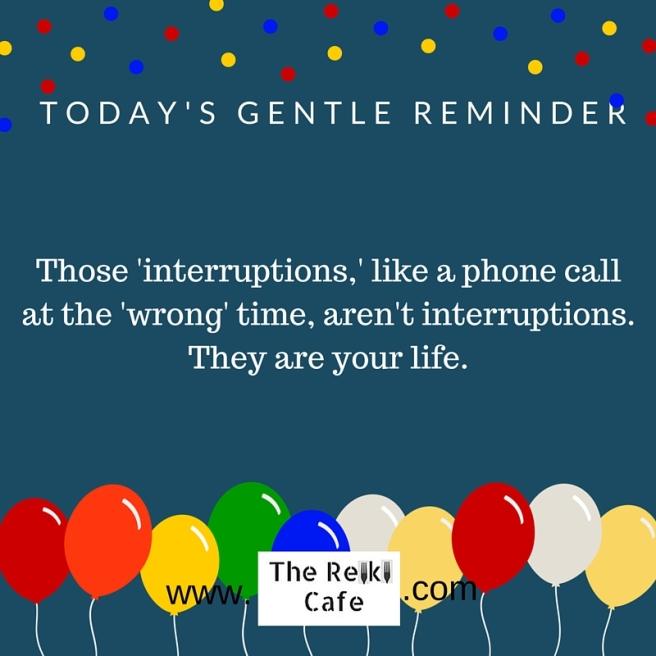Gentle Reminder 2-16