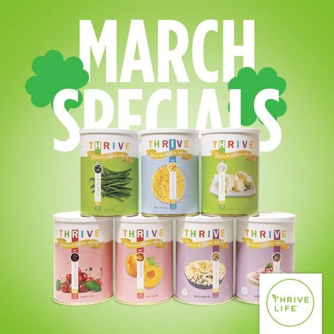 March Specials 2016