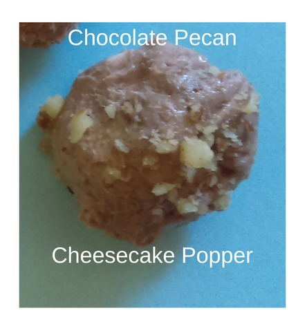 Chocolate Pecan Cheesecake Popper (2)