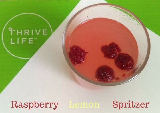 Raspberry LemonSpritzer